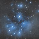 M 45  Pleiades,                                daverobitaille@rogers.com