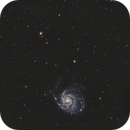 M101 Widefield (HaRGB),                                Mike Oates