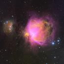 Orion M42 and the Running Man Nebula HSO,                                Brian Meyerberg