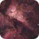 Narrowband with OSC Camera - First Test with Ha only :-),                                Daniel Nobre