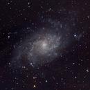 M33 - Triangulum galaxy,                                astronate