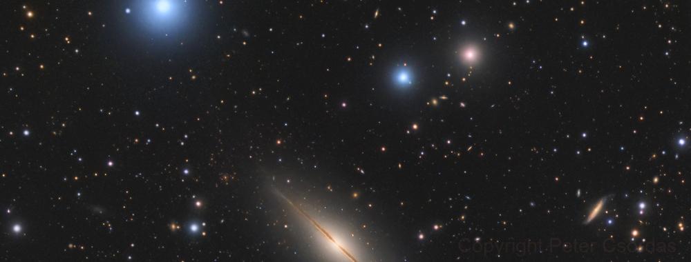 Little Sombrero - NGC7814,                                xordi