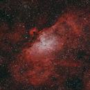M16 - The Eagle nebula,                                Denis Labelle