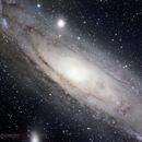 M31 + M32  NGC 200 - 299 Andromeda-Galaxie  ,                                Helmut Gatter