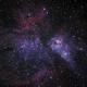Eta Carina Nebula,                                Peter Pat