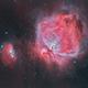 Orion Nebula with Running Man Nebula,                                Ethan Wong