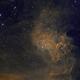 IC 405 SH-229 Flaming Star Nebula,                                Albert  Christensen