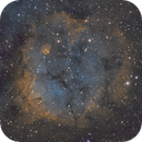 SH2-284 Nebula & open star cluster Dolidze 25 in Monoceros constellation,                                MassimoTuninetti