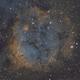 SH2-284 Nebula & open star cluster Dolidze 25 in Monoceros constellation,                                MassimoTuninetti