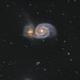 M51 LRGB,                                LAMAGAT Frederic