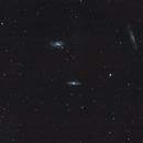 Leo Trio - M65, M66 and NGC3628,                                David Barmore
