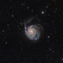 M101 HRGB Image,                                Eric Coles (coles44)