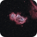 IC 1848 Soul Nebula 20210221 16800s HOO 01.7.5,                                Allan Alaoui