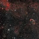 NGC 6888 - Crescent nebula,                                Sagittarius_a