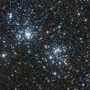 Double Cluster (Epsilon 130D first light),                                Adam Landefeld