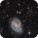 Ngc 1097 and jet of matter,                                Jonathan FERTIL