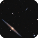 NGC 4562 and BIG Company,                                Darkestskiesdotcom