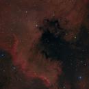 Cygnus Wall in RGB,                                Fabian Rodriguez...