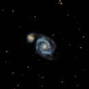 M51- Whirlpool Galaxy,                                Julian Claxton