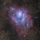M8 The Lagoon Nebula,                                Jacob Bers