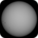 Sun in Whitelight 31st August 2017 , 09:30 BST,                                steveward53