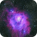 Lagoon nebula M8 close up,                                Andynowlen@gmail.com