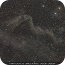 Faint Galactic Cirrus in Apus - Jacob's Ladder,                                Gabriel R. Santos (grsotnas)