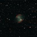 M27. The Dumbbell nebula,                                Ferran Ginebrosa