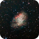 The Crab Nebula - M1,                                Steven E Labkoff