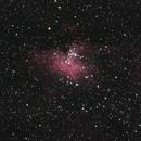 Eagle Nebula (short integration,                                frankszabo75