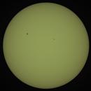 Sun Sunspot AR2740 + AR2741,                                Siegfried