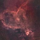 IC1805 Heart Nebula in SHO,                                TimothyTim