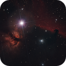 Horse Head and Flame Nebulas in HaLRGB,                                Eric Solís