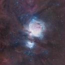 Orion, Running Man and Dust !,                                Lightstram
