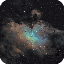 M16 - The Eagle Nebula (Ha-SHO),                                Olivier Ravayrol