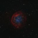 Sh2-290 - Abell 31 - PK 219+31.1 in HOO/RGB,                                Uwe Deutermann