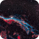 NGC6960 from the city in Narrowband,                                Karlov