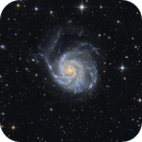 M101 LRGB (old and new data mixed),                                skyborg