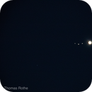 Jupiter mit den galileischen Monden,                                Thomas Rothe