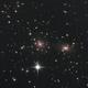Coma Cluster,                                Станция Албирео