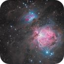 M42 with Esprit 80,                                Tristan Campbell