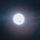 Plane shot on the Sun,                                AstroMarcin