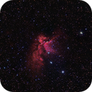 NGC 7380-The Wizard nebula,                                gibran85