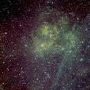 Sh2-115 Emission Nebula in Cygnus Hubble Pallet and PS Selective Color Variant,                                jerryyyyy