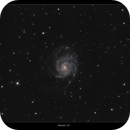 Messier 101- The Pinwheel Galaxy,                                William Maxwell