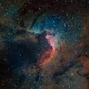 SH2-155 The Cave Nebula in SHO,                                Roland Schliessus