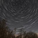 Star Trails at Castle Loch, Lochmaben, Scotland,                                Killie
