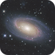 M81 with lots of surrounding IFN,                                Zhaoqi Li