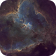 IC 1805 - The Heart Nebula (SHO),                                Falk Schiel