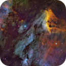 IC5070 - Pelican Nebula (first light for my new observatory and the ASI 1600MM cool),                                equinoxx